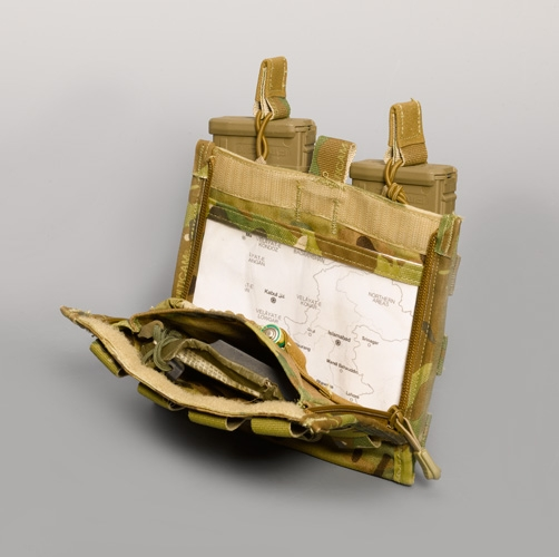high ground gear single handed drop down prc 152 pouch tactical kit